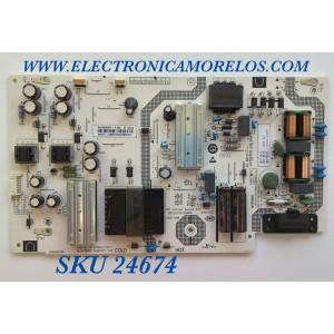 FUENTE DE PODER PARA TV VIZIO / NUMERO DE PARTE 60101-03907 / SHG6502C-116E / 25-DT0043-X2P1 / CQC14134104969 / PANEL HV650QUB-F70 / MODELOS V655-H4 / V655-H4 LBPFZZKW