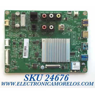 MAIN PARA SMART TV VIZIO 4K UHD CON HDR RESOLOCION (3840 x 2160) / NUMERO DE PARTE 905TXKSA550001 / 715GA874-M0C-B00-004G / 87121740-0382 / 87121740-04613 / 1C93CF33 / PANEL TPT430H3-QUBH10.K REV:SA9P0Q / MODELOS V435-H1 / V435-H1 LTCUZGKW