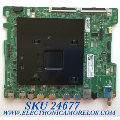 MAIN PARA SMART TV SAMSUNG 4K UHD CON HDR RESOLUCION (3,840 x 2,160) / NUMERO DE PARTE BN94-14156F / BN41-02695A / BN97-15661E / 010222001195 / 20200731 / PANEL CY-NR082FGNV1H NW32 / MODELO UN82RU8000FXZA DA02