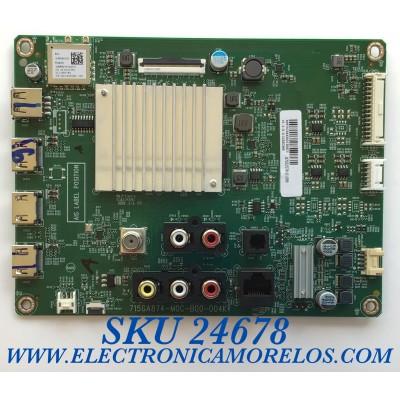MAIN PARA SMART TV VIZIO 4K UHD CON HDR RESOLOCION (3840 x 2160)  / NUMERO DE PARTE 905TXJSA430013 / 715GA874-M0C-B00-004K / 87032578-06970 / 1C93C9E6 / 87032578-01099 / PANEL TPT430H3-QUBH10.K REV:SA9P0Q / MODELOS V435-H1 / V435-H1 LTCUZGKW