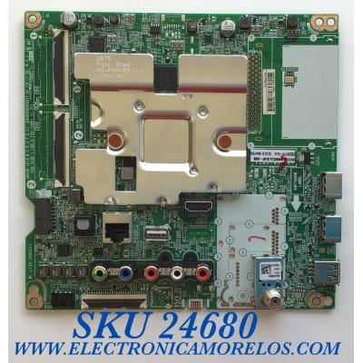 MAIN PARA SMART TV LG 4K UHD / NUMERO DE PARTE  EBT66447502 / EAX69083603(1.0) / PANEL NC550DGG-ABGP1 / MODELOS 55UN6950ZUA / 55UN6950ZUA.BUSWLKR / 55UN6950ZUA.BUSFLKR