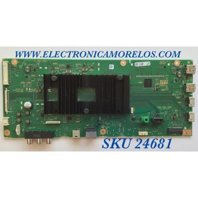 MAIN PARA TV SONY 4K UHD CON HDR RESOLUCION (3840 x 2160) / NUMERO DE PARTE A5019133B / 1-002-204-11 / 200804 / 100220211 / A-5019-133-B/ PANEL YSAF075CNU01/ MODELO KD-75X750H / KD75X750H