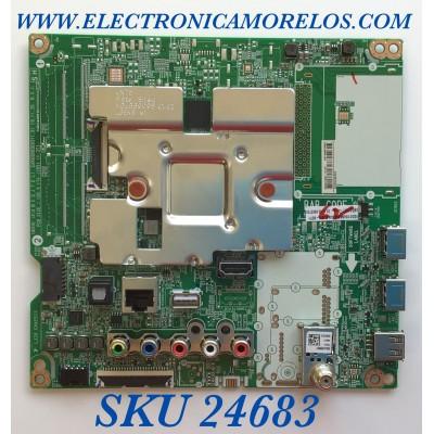 MAIN PARA SMART TV LG 4K UHD CON HDR RESOLUCION (3,840 X 2,160) / NUMERO DE PARTE EBT66527906 / EAX69083603(1.0) /  EAX69083603 / PANEL NC700DQE-VSHX7 / MODELOS 70UN6950ZUA / 70UN6950ZUA.BUSMLKR