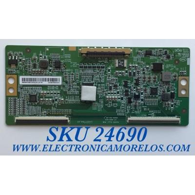 T-CON PARA TV SONY / NUMERO DE PARTE 44-9771670O / 47-6021401 / HV430QUBN1K / HV430QUB-N1K /L423776A / PANEL YS9F043HNO01 / MODELO XBR-43X800H / XBR43X800H
