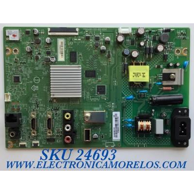 MAIN FUENTE PARA SMART TV VIZIO  UHD RESOLUCION (1920 X 1080) / NUMERO DE PARTE XKCC023001010X / 715GA481-C01-001-004T / PFK8KKA2L  4956140 / PANEL TPT238B5-CT012.H  REV:S1A / MODELOS D24F-G1 / D24F-G1 LTM5QLKW