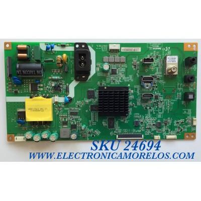 MAIN PARA TV VIZIO / NUMERO DE PARTE 6M03M0000J00R / KB-6160 / A06A44D901E3 / 99PAF383800S700001 / PANEL V236BJ1-LE2  REV.C1 / MODELOS D24H-G9 / D24H-G9 LINIXSCU