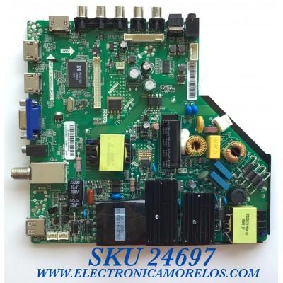MAIN FUENTE PARA TV WESTINGHOUSE / NUMERO DE PARTE 890-M00-02N38 / TP.MS3393.PC821 / LSC550HN02 / B16086386 / WE-M16086 / PANEL T550-DXA-DLED / MODELO WD55FB1530