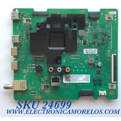 MAIN PARA TV SAMSUNG 4K UHD RESOLUCION (3840 x 2160) / NUMERO DE PARTE BN94-15785U / BN41-02756B / BN97-16597X / 20200723/ 010221545190 / PANEL CY-RT043HGHV4H / MODELO QN43Q60TAFXZA CD02 / QN43Q60TAF
