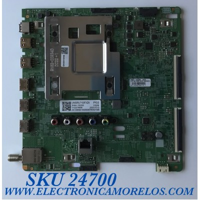 MAIN PARA TV SAMSUNG 4K UHD CON HDR RESOLUCION (3,840 x 2,160) / NUMERO DE PARTE BN94-15025S / BN41-02703C / BN97-16392M / 20201013 / 010225796086 / PANEL CY-NN055HGXV1H / MODELO UN55RU7100FXZA WA12 / UN55RU7100F