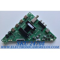 MAIN PARA TV TOSHIBA SMART HD RESOLUCION (1080 x 720) / NUMERO DE PARTE CN2T100001H / TD.T950.67 / CN2T100001H00DWALMK16760000B / N20041425-0A01557 / PANEL K320WDCRA-UA200A4 / MODELO / 32LF221U21