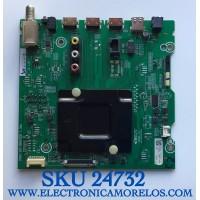 MAIN PARA TV HISENSE SMART 4K UHD CON HDR RESOLUCION (3840 x 2160) NUMERO DE PARTE 269506 / 265026B / 265025B / HU65A6109FUWR/1654 / RSAG7.820.8840/ROH / PANEL HD650X1U81-L1/S0/GM/ROH / MODELO 65R6E3