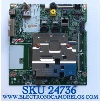 MAIN PARA TV LG SMART 4K UHD CON HDR RESOLUCION (3840 x 2160) NUMERO DE PARTE EBT66589701 / EAX69109605(1.0) / 66589701 / PANEL SEL550W0(BD0-A00) / MODELOS 55NANO85UNA / 55NAN085UNA / 55NANO85UNA.BUSBLJR / 55NAN085UNA.BUSBLJR