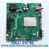 MAIN PARA TV HISENSE  SMART UHD RESOLUCION (1920×1080) / NUMERO DE PARTE 255264 / RSAG7.820.8974/ROH / 40E5602EUR / 259643/B / 3TE40G2017F7 / PANEL HD400V1F31-TXL1K1/S0/GM/ROH /MODELO 40H4030F1