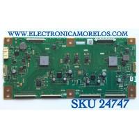 T-CON PARA TV SHARP / NUMERO DE PARTE RUNTK0227FVZZ / CPWBXZZ / S5M88021X / PANEL JE805R3LW00A / MODELO LC-80UE30U