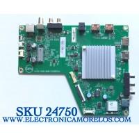 MAIN PARA TV VIZIO SMART 4K UHD CON HDR RESOLUCION (3840 x 2160) NUMERO DE PARTE 756TXKCB02K016 / 715GB003-M0B-B00-004G / (X)XKCB02K016010X / PANEL TPT650UA-QVN07.U / MODELO M65Q8-H1