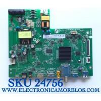 MAIN FUENTE PARA TV TCL  SMART 4K UHD CON HDR RESOLUCION (1280×720) NUMERO DE PARTE 08-CM32TML-LC206AA / 40-MS14X1-MPB2HG / 08-MST1420-MA200AA / 08-MST1420-MA300AA / PANEL LVW320NDEL / MODELO 32S331