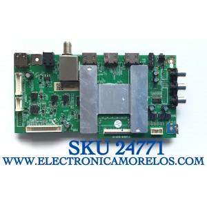MAIN PARA TV ONN·ROKU TV SMART TV (32) / NUMERO DE PARTE RT28210-ZC01-01 / CQC19001215262 / PANEL´S LSC320AN09-H / HV320WHB-F56 / V320BJ8-Q01 / LSC320AN10-H MODELO 100012589 / WR32HB2200 ((NOTA:CHECAR QUE EL PANEL Y MODELO CORRESPONDA CON SU TELEVISION ))