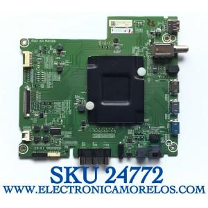 MAIN PARA SMART TV HISENSE ROKU 4K UHD CON HDR RESOLUCION (3840x2160) / NUMERO DE PARTE 245572 / RSAG7.820.8593/ROH / 245571 / 3TE58G1937M4 / HU58A6100UWR / PANEL HD580S1U91-L1\GM\CKD3A\ROH / MODELO 58R6E / 58R6000FM