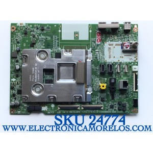 MAIN PARA SMART TV LG 4K UHD CON HDR RESOLUCION (3840x2160) NUEMRO DE PARTE EBT66096502 / EAX68382502(1.0) / 245X174(183) / 66096502 / PANEL NC650EQH-AAHH1 / MODELOS 65SM8600AUA / 65SM8600AUA.BUSYLJR