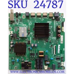 MAIN FUENTE PARA SMART TV HISENSE 4K UHD ROKU CON HDR RESOLUCION (3840 x 2160) / NUMERO DE PARTE 263340 / RSAG7.820.9221/ROH / 263341 / 3TE58G2022PR / G2011NA / HU58A6109FUWR/1666 / PANEL CV580U1-T01 REV:01 / MODELO 58R6E3