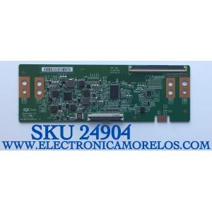T-CON PARA TV PHILIPS 4K UHD ANDROID SMART TV / NUMERO DE PARTE 44-9771618O / 47_6021363 / 44-97716180 / HV750QUBF9A / B03904SS0102B / PANEL´S BOEI750WQ1-F9A / BOEI750WQ1-F9B / MODELO 75PFL5604/F7 / 75PFL5604/F7 A