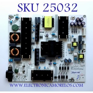 FUENTE DE PODER PARA TV HISENSE 4K UHD (ANDROID) SMART TV / NUMERO DE PARTE 262075 / RSAG7.820.9701/ROH / E56327 / HILL-5865WA / CQC16134139053 / PANEL HD700X1U91-L1/WG\S0\GM\ROH / MODELO 70H6570G / 70H6570G HU70A6109FUWA