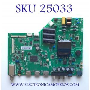 MAIN FUENTE PARA TV INSIGNIA / NUMERO DE PARTE 60103-00677 / TP.MS3553T.PB790 / N20072809-0A01035 / 4300067356 / CD73 / 20200624_135205 / PANEL BOEI430WU1-01 / MODELO NS-43D420NA20