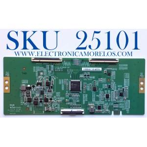 T-CON PARA TV PHILIPS / NUMERO DE PARTE 44-97717840 / E88441 / 44-9771784O / C-PCB_HV750QUB-V90 / 47-6021327 / HV750QUBN9D / PANEL BOEI750WQ1-N9D / MODELO 75PFL5601/F7