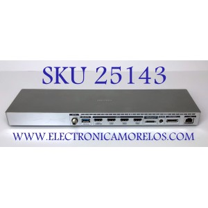 CAJA ONE CONNECT PARA TV SAMSUNG ((NUEVO)) / NUMERO DE PARTE BN91-15226G / MX10BN9115226GA671G5D0028 / BN9115226G / PARTE SUSTITUTA BN94-09102U / MODELOS UN78JS9100FXZA TS01 / UN78JS9100FXZA