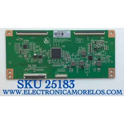 T-CON PARA TV RCA NUMERO DE PARTE CC500PV4D.4K / CC575PU1L / PD6744A2A-V3.0 B01PD010C002030 / MODELO RLDED5098-B-UHD