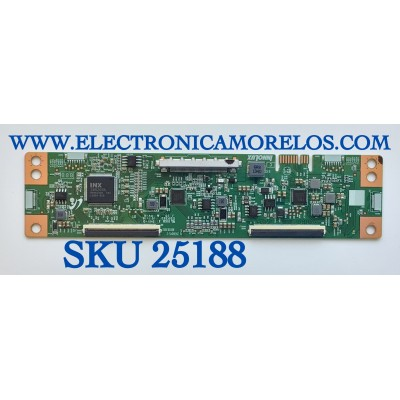T-CON PARA TV HISENSE / NUMERO DE PARTE MACDJ5050 / 2430045-2 / B00283002 / BLC0CJAH395103L300001 / PANEL CV580U1-T01 / MODELO 58R6E3