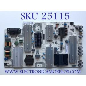 FUENTE DE PODER PARA TV VIZIO QUANTUM 4K HDR SMART TV / NUMERO DE PARTE 60101-03775 / 25-DB5192-X2P1 / SHG6501A-116E / CQC14134104969 / SHG6501A-116E B / PANEL HV650QUB-F70 / MODELO M656-H4 / M656-H4 LBPFB6 / M656-H4 LBPFB6KW
