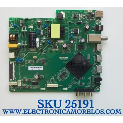 """MAIN FUENTE  SMART PARA TV ONN DE 24"""" ROKU HD RESOLUCION (1280×720) NUMERO DE PARTE B20073989 / TPD.MS1603.PB751 / CH_XC9C_A / B20073989-0A01218 / PANEL'S C240Y19-D6 / V236BJ1-P01  REV.CB / MODELO 100012590"""