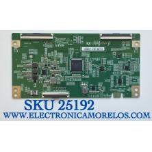 T-CON PARA TV PHILIPS 4K UHD (ANDROID) SMART TV / NUMERO DE PARTE 44-97716800 / 44-9771680O / C-PBC_HV650QUB / 47-6021287 / HV650QUBV9F / PANEL HV650QUB-N9E / MODELOS 65PFL5604/F7 A / 65PFL4864/F7 C