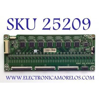 LED DRIVER PARA TV HISENSE NUMERO DE PARTE 247230 / RSAG7.820.8765/ROH / FZ196DG1R5 / MODELO 55H9F