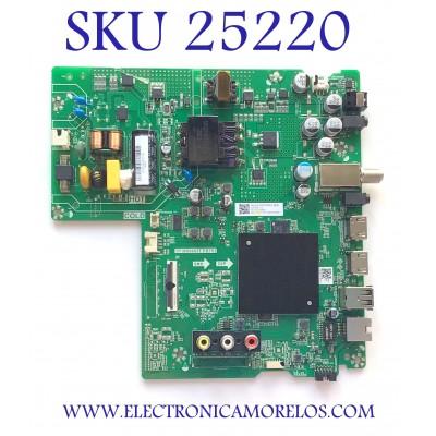 MAIN FUENTE PARA TV HISENSE NUMERO DE PARTE 270121 / TP.MS6683T.PB753 / 200113 / G2026CI / 36275-270121-207H-G2026CI01093A / DCBD7A5CC18 / A20063797-0A01203 / MODELO 40H5500F