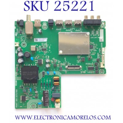 MAIN FUENTE PARA TV HISENSE NUMERO DE PARTE 278252 / RSAG7.820.9375/ROH / 3TE40G2053B9 / ZSY211UBOCT / 40E5600EUR / PANEL JHD396V1F01-TXL1/MCKD-3A/ROH / MODELO 40H4030F1
