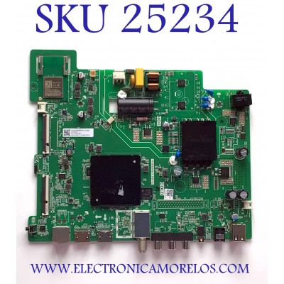 MAIN FUENTE PARA TV HISENSE NUMERO DE PARTE 273005 / TP.MS6683T.PB702 / HU43E5600FFWA.N.B2. / 200427 / G20304C / 36275-273005-2115-G20304C00761A / PANEL JHD425X1F71-T0L1/S0/MCKD-3A/ROH / MODELO 43H5500G