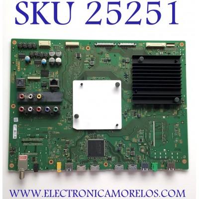 MAIN PARA SMART TV SONY 4K UHD RESOLUCION (3840 x 2160) NUMERO DE PARTE A-2072-545-C / 1-894-595-12 / (189459512) / A20725545C / 200529 / 331228 / PANEL V750DK1-QS3 REV. J2 / MODELOS XBR-75X910C / XBR75X910C