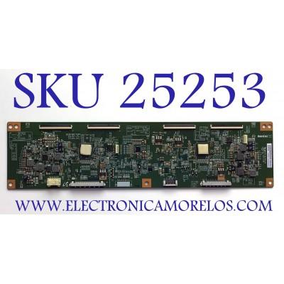 T-CON PARA TV SONY / NUMERO DE PARTE 1-895-818-11 / 3KJDK1S32 / 6JM364VTT35 / PANEL V750DK1-QS3 REV. J2 / MODELOS XBR-75X910C / XBR75X910C