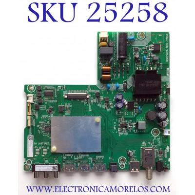 MAIN FUENTE PARA TV HISENSE NUMERO DE PARTE 287894 / RSAG7.820.9375/ROH / G2045DL / 1322 / 500880 / 20C5 / G2045DL02945N / PANEL JH396V1F01-TXL1/CKD3A/ROH / MODELO 40H4030F1