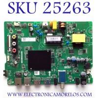 MAIN FUENTE PARA TV HISENSE NUMERO DE PARTE 267526 / TP.MS6683T.PB732 / 200113 / G20295W / 36275 / 208L / G20295W00718A / PANEL JHD3J5VJH73-T0L1B1/S0/6M/ROH / MODELO 32H5500F
