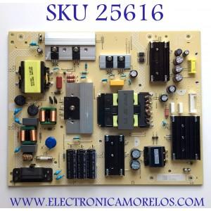 "FUENTE DE PODER PARA SMART TV ONN DE 65"" ROKU 4K UHD CON HDR RESOLUCION (3840 × 2160) / NUMERO DE PARTE PLTVJIA31XXEK / 715GA018-P01-004-003S / JIA31XXEK / (X)PLTVJIA31XXEK / PANEL TPT650UA-QVN07.U REV:S500S / MODELO 100012587"