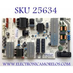 FUENTE DE PODER PARA TV VIZIO 4K SMART TV / NUMERO DE PARTE 60101-04051 / SHG7502B-116E / 25-DB5902-X2P1 / CQC14134104969 / PANEL BOEI750WQ1 / MODELOS  V755-H4 LBNFB4 / V755-H4 LBNFB4KX / V755-H4 LBNFB4KW / V755-J04 / V755-J04 LBNFE5 / V755-J04 LBNFE5KX