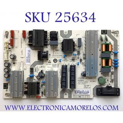 FUENTE PARA TV VIZIO NUMERO DE PARTE 60101-04051 / SHG7502B-116E / 60101-040512105000513 / PANEL BOEI750WQ1 / MODELO V755-J04 LBNFE5KX