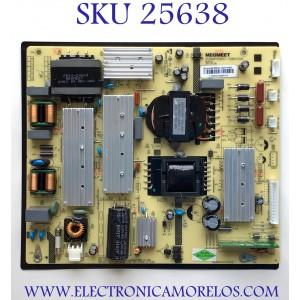 FUENTE PARA TV RCA NUMERO DE PARTE MP5565T-122V1160C / MP5565T-108V1200 / L120162210201713 / MODELO RTU6549