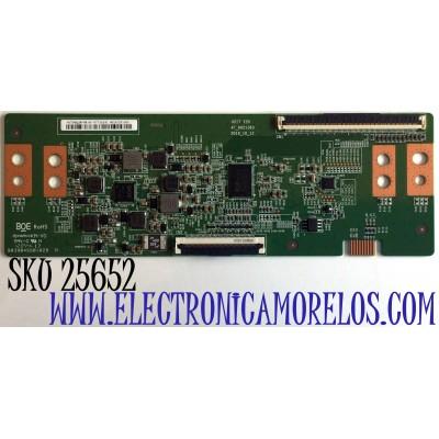 T-CON PARA TV PHILIPS NUMERO DE PARTE 44-9771614C / HV750QUBF9B / HD1A12K1683 / B03904SS0102B / 47_6021363 / PANEL  BOEI750WQ1-F9B / MODELO  75PFL5604/F7 A