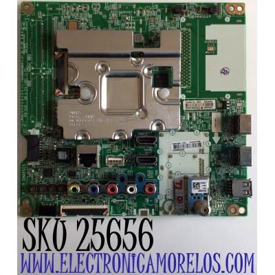 MAIN PARA TV LG NUMERO DE PARTE EBT66072005 / EAX68253604(1.0) / SJEBT000-0101 / RU99B8A29H /9IPRSL1X-000U / 65706001 / GO97R0050GZ / 88800601 / PANEL NC750DQE-ABGR2 / MODELO 75UM7570AUE.AUSGL0R