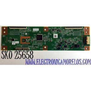 T-CON PARA TV ONN·ROKU TV 4K UHD HDR SMART TV (70) / NUMERO DE PARTE RUNTK0529FVZA / 1P-1207C00-40SA / RUNTK0529FV / E253117 / PANEL JE695R3HB9L / MODELO 100012588