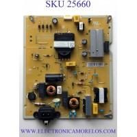 FUENTE PARA TV LG NUMERO DE PARTE EAY65170108 / EAX68304102(1.0) / LGP43T-19U1 / PANEL NC430DQG-ABHX3 / MODELO  43UN7300AUD.BUSFLJM